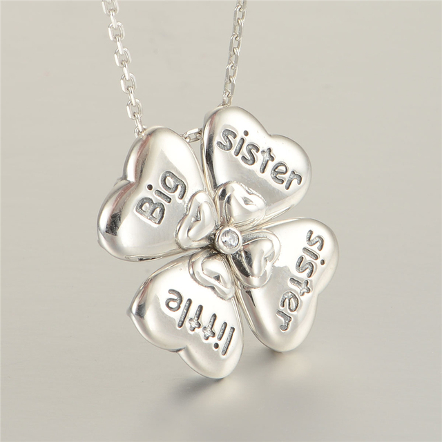 Stylish Clover 925 Sterling Silver Necklace Famous Designer Jewelry Hot Sale Gw Fine Jewelry XLY001H20