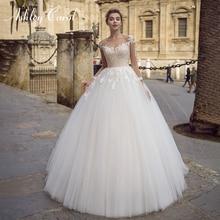 Ashley Carol Long Sleeve Wedding Dress 2019 Bride Dresses