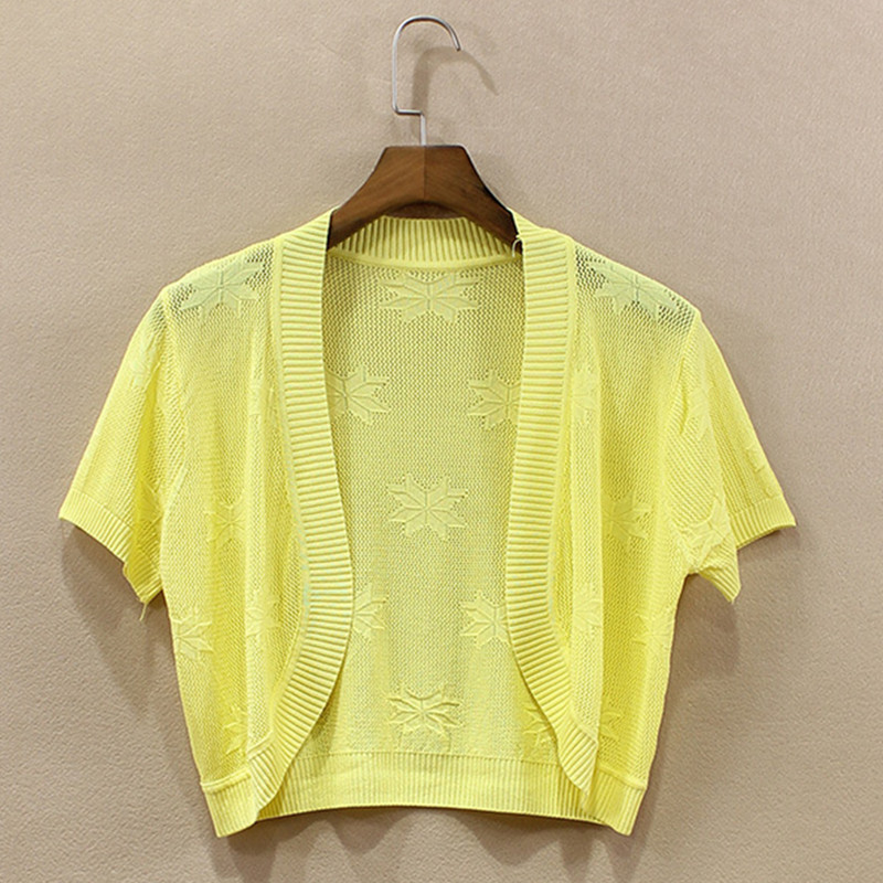 Women\'s Fashion New Arrival Cotton Knitted Pattern Solid Summer ...