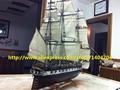 Sacle 1/90 Classic U.S. sail boat wooden model kits U.S. CONSTELLATION 1843 ship model