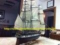 Sacle 1/90 clássico eua barco de vela kits modelo de madeira eua constelação 1843 modelo do navio