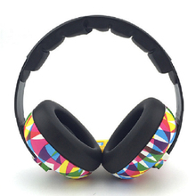 Children Baby Headphones Anti-noise earmuffs Ear Protectors Headset Earphone Hearing Protection Soundproof for 2-10 years old