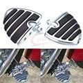 Billet Aluminum 4452 Wing Dual Foot Pegs Footpeg Footrest for Harley Road King