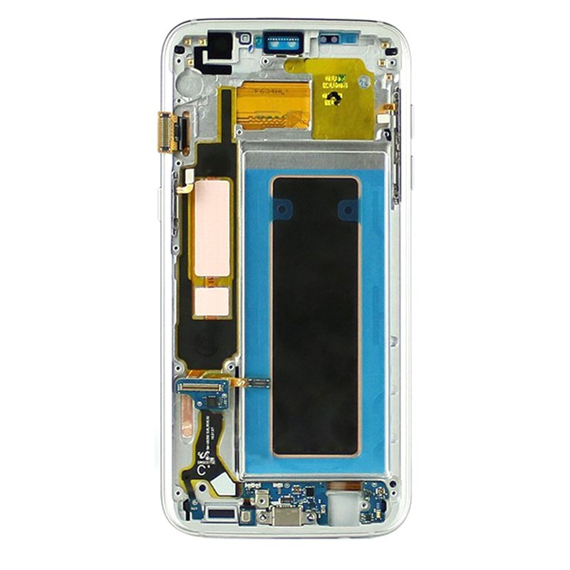 samsung S7 edge lcd with frame digitizer