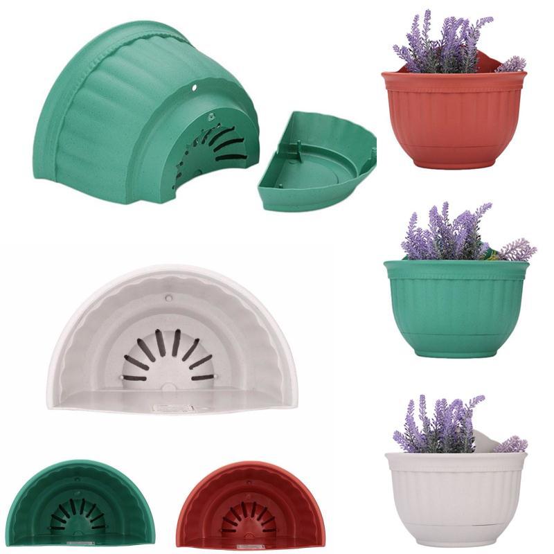 Decen Vertical Garden Pots Plastic Flower