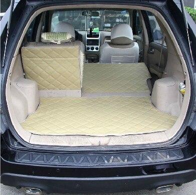 Tapis de coffre de voiture en cuir pu spécial après le coussin d'entrepôt + coussins de dossier pour Kia Sportage