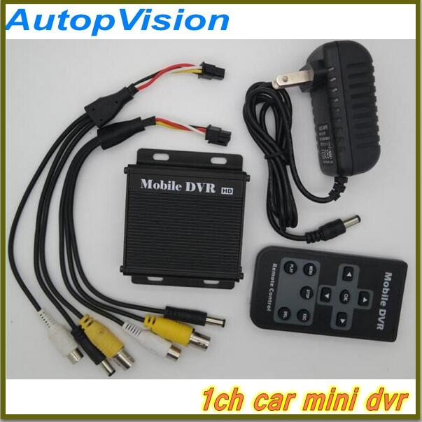 New 10V-32V power input  Bus car support 64GB SD Memory 1CH SD Mobile DVR