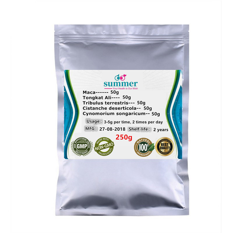 250 1000g MixedTribulus terrestris Tongkat Ali Cistanche deserticola Cynomorium songaricum Maca extract for Tonifying kidney