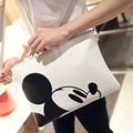 New Fahio Micky Mous And Hello Kity Girls Crossbody Bag Women Envelope Messenger Bags Bolsa Feminina Bolsa Handbag Casual Cultch