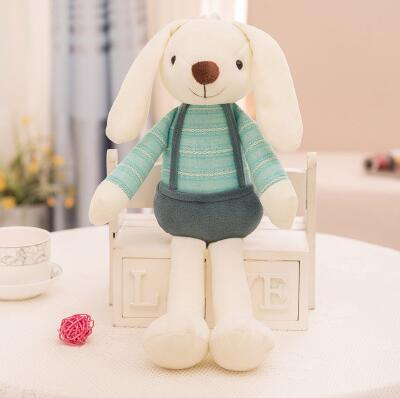 40CM Big Toy 2018 Cute Doll Plush Toy Gift Girl Kid Birthday Gift Lovely Staffed Rabbit Staffed Plush Toy Free Shipping A-38