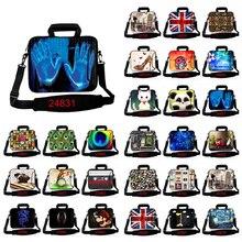 Окрашенная сумка для компьютера, чехол для ноутбука ipad MacBook, чехол 10,1, 11,6, 12, 13, 13,3, 14, 15, 15,4, 15,6, 17,3 дюймов, чехлы для ноутбуков