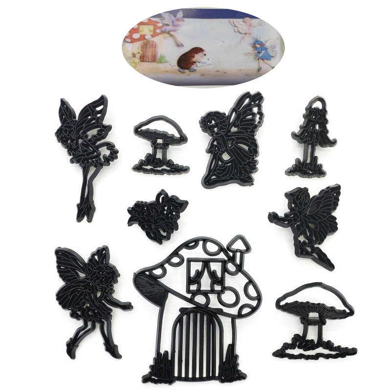 Tools Silhouette Mold Decorating  Cake  17PCS  Cutter Baby  Plastic   Cookie