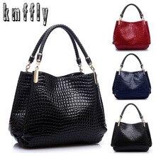 Berühmte Designer Marke Taschen Frauen Leder Handtaschen 2018 Luxus Damen Hand Taschen Geldbörse Mode Schulter Taschen Bolsa Sac Krokodil