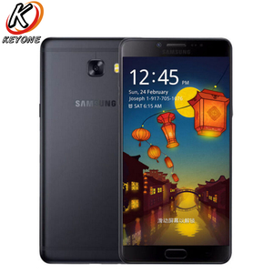 Image 1 - Nouveau téléphone portable SAMSUNG GALAXY C9 Pro C9000 LTE 6.0 pouces 6 go de RAM 64 go ROM Octa Core 16MP 4000 mAh Android 6 téléphone double SIM