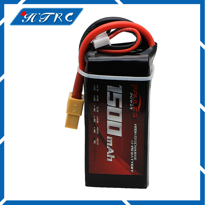 1 PCS Newest Lithium Polymer Power Lipo Battery 11.1V 1500mAh 3S 70C For RC Helicopter Car Truck Hobby Drone Parts Bateria lp2200 3s 20 11 1v 2200mah lithium polymer battery for r c helicopter black