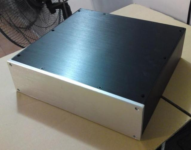 все цены на BZ3209 silver Full Aluminum amplifier Enclosure AMP case/PSU chassis/DAC BOX