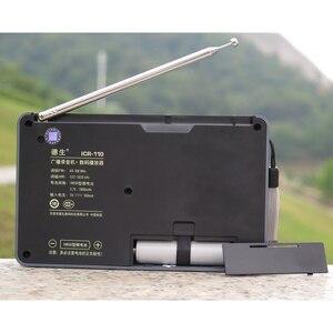 Image 5 - Tecsun ICR 110 радио FM/AM MP3 плеер Диктофон для пожилых людей цифровой аудио переносной полупроводник звуковая коробка Поддержка TF карта бесплатная доставка