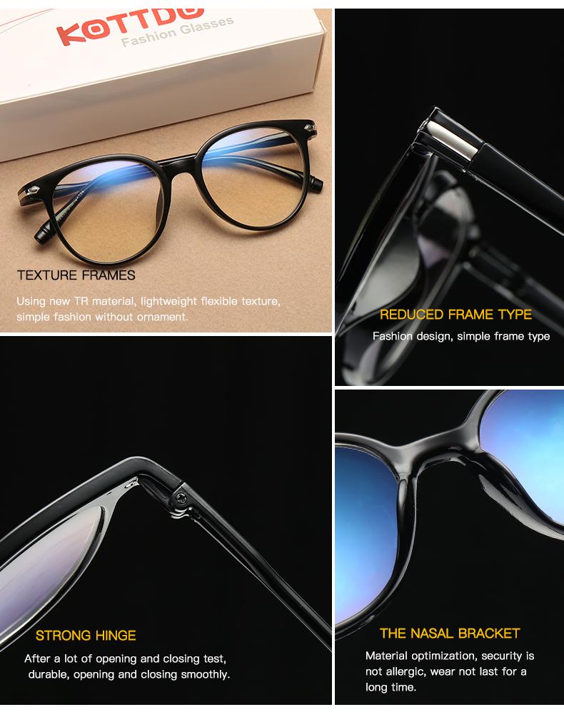 5fc90258a08 KOTTDO Retro Cat Eye Glasses Frame Optical Glasses Prescription Glasses Men  Eyeglasses Frames Oculos De Grau Feminino ArmacaoUSD 2.64 piece