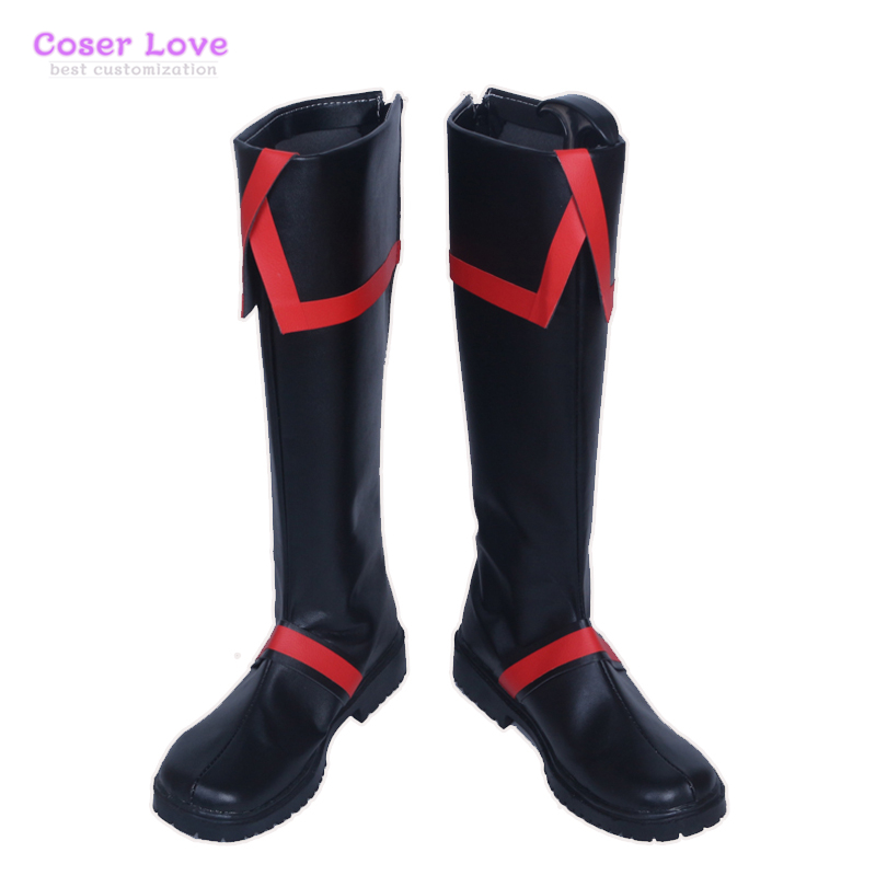 D.Gray man Allen Walker Cosplay Carnaval Shoes Boots Halloween Christmas Shoes-in Shoes from Novelty & Special Use    1