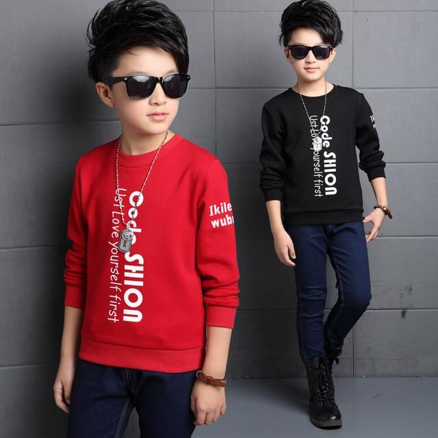 2016 New Children Plus Velvet Sport Baby Boys Sweater Fashion Outerwear Winter Warm Jacket  Sport Fashion