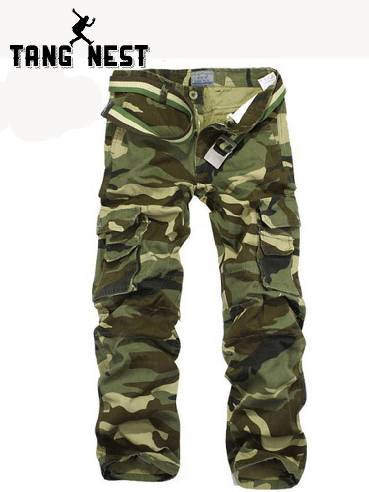 Mens Plus Size Relaxed Fit Camouflage Cargo Combat Trousers 40-60 inch Waist