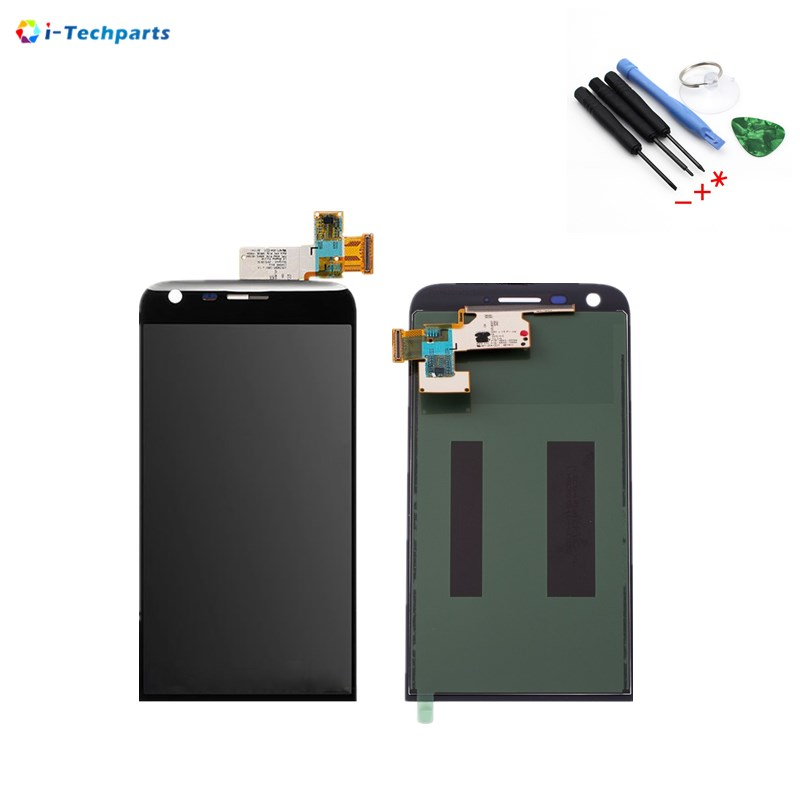 New Original For LG G5 LCD Display Screen + Touch Digitizer Assembly Replacement 5.3inch,Black White original lcd for wiko ridge 4g lcd display with touch screen digitizer pantalla assembly replacement 5 inch black color