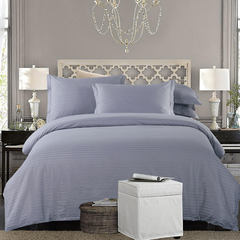 Cotton White Grey Nordic Bedding Set Twin Full Queen King size Hotel Duvet cover Bed set