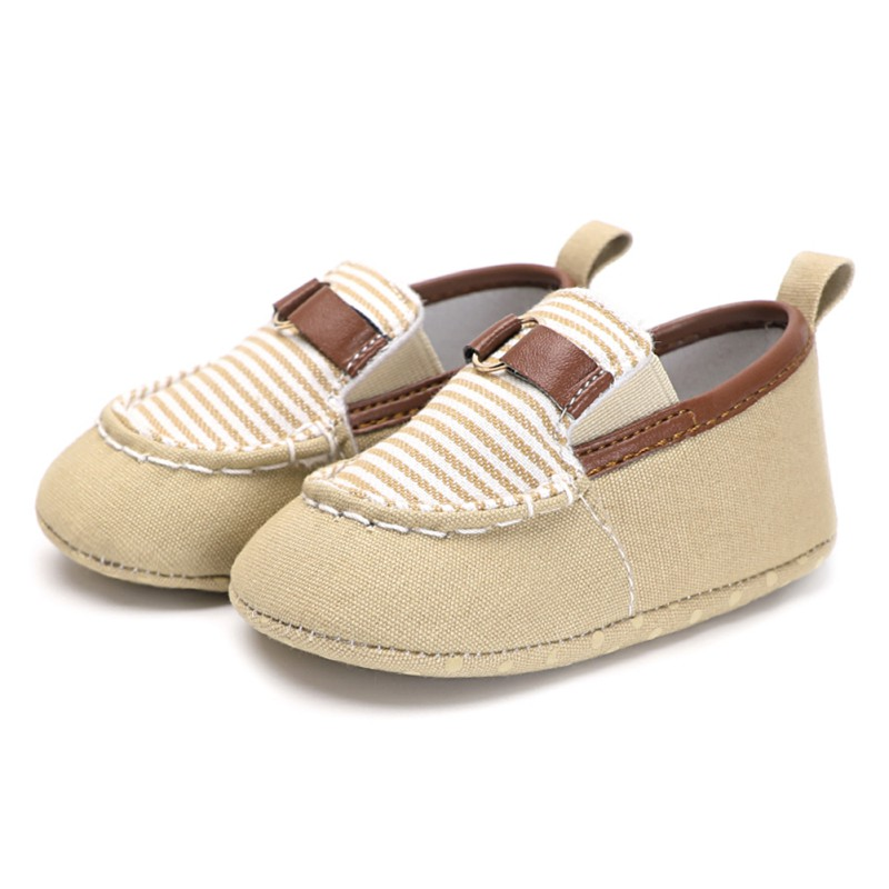Weixinbuy Baby Kids Casual Shoes Newborn Stripe Fashion Toddler Shoes lazy SFirst Walker For 6-18M