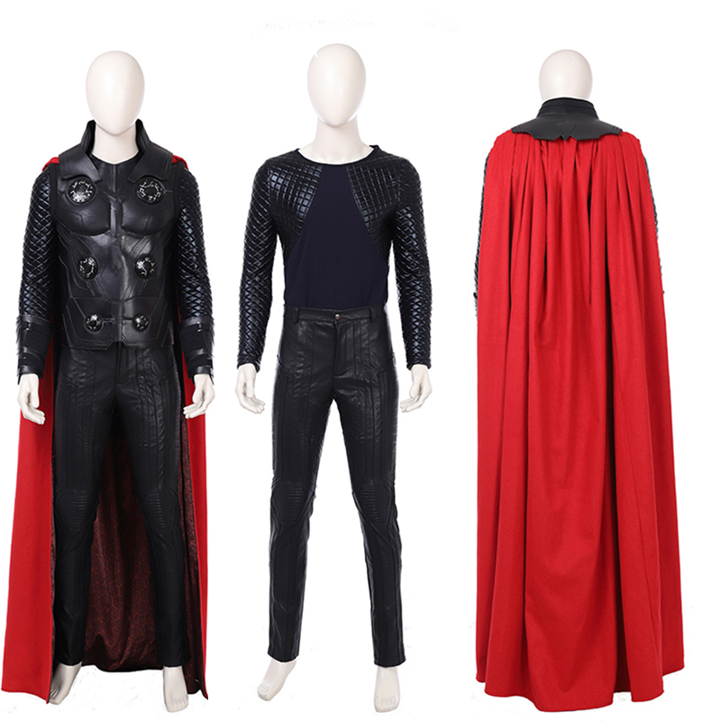 New Arrival The Avengers 3 Thor Cosplay Thor Costume Full Suit Hallowmas Outfit Custom Made Suit Any Size