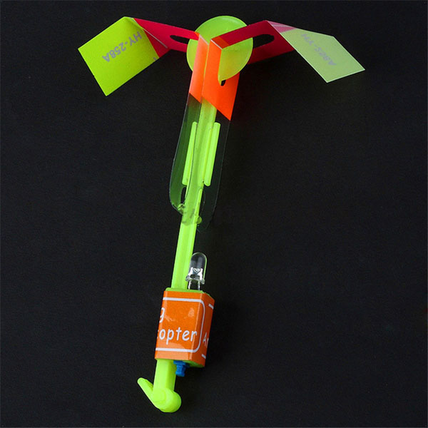 Amazing Arrow Helicopter Flying Toy LED Light for Kids Outdoor Birthday P20