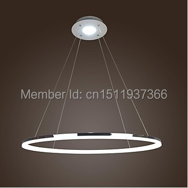 LED Ring 80CM  35w The Diameter Is 80cm  Luxury Modern Simple Design Mini Pendant Living LED Ring Free Shipping tango