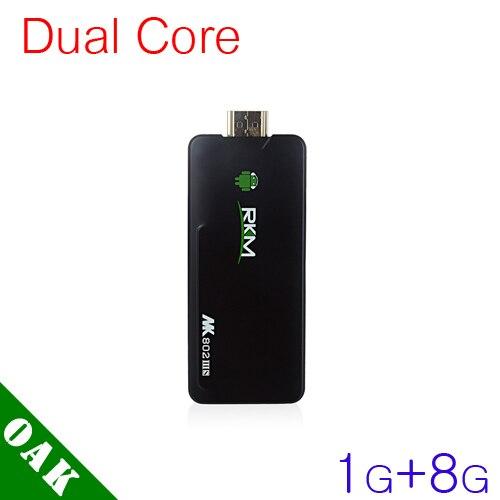 Free DHL - Original RKM MK802IIIS Dual Core Android TV Box RK3066 (1GB+8GB) Bulit-in Bluetooth/WiFi - 20pcs
