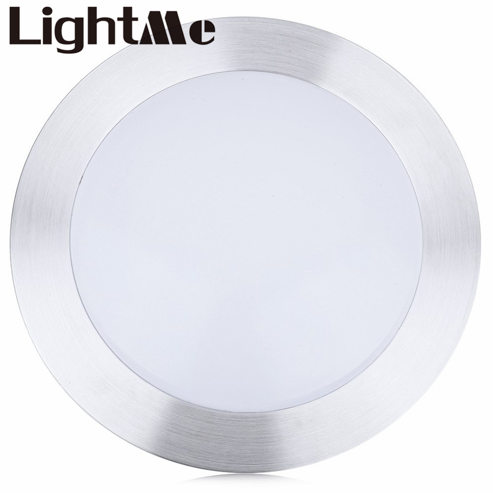 Popular Kichen Silver White Ceiling Lights Round Single Side 18w Led Light Living Room Lamp