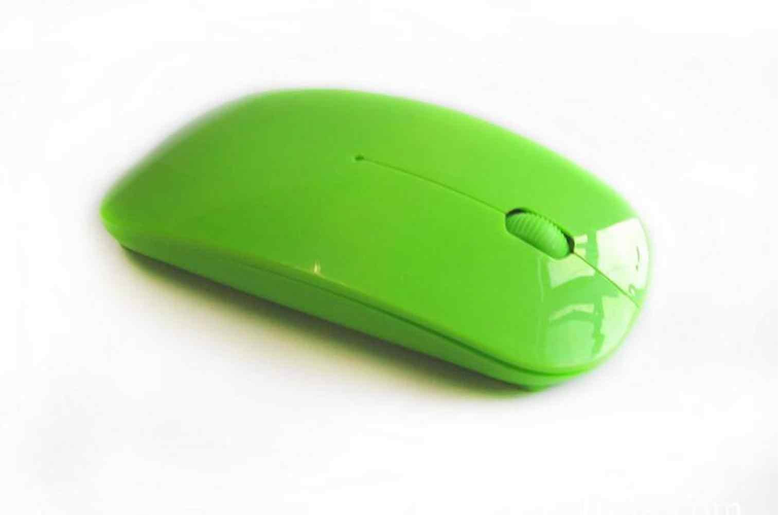 EastVita Gebogene Wireless 2,4 GHz Optische Dünne Maus Weiß Rosa 2,4 GHz USB Optische Drahtlose Maus für laptop und desktop r60