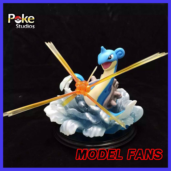 MODEL FANS IN-STOCK 20cm poket monster Lapras GK resin made figure toy for CollectionMODEL FANS IN-STOCK 20cm poket monster Lapras GK resin made figure toy for Collection
