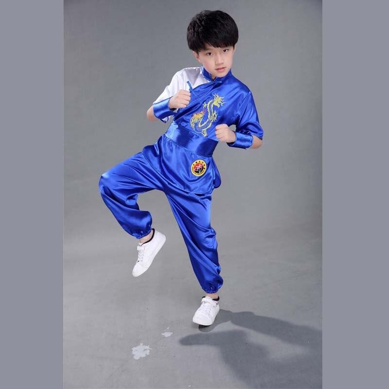 Bjj Kimono Jiu Jitsu Chinese Traditional Professional Silk Material Wushu TaiChi Kung Fu Uniforms