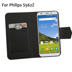На Алиэкспресс купить чехол для смартфона 5 colors hot! for philips s562z case phone leather cover,factory price protective full flip stand leather phone shell cases