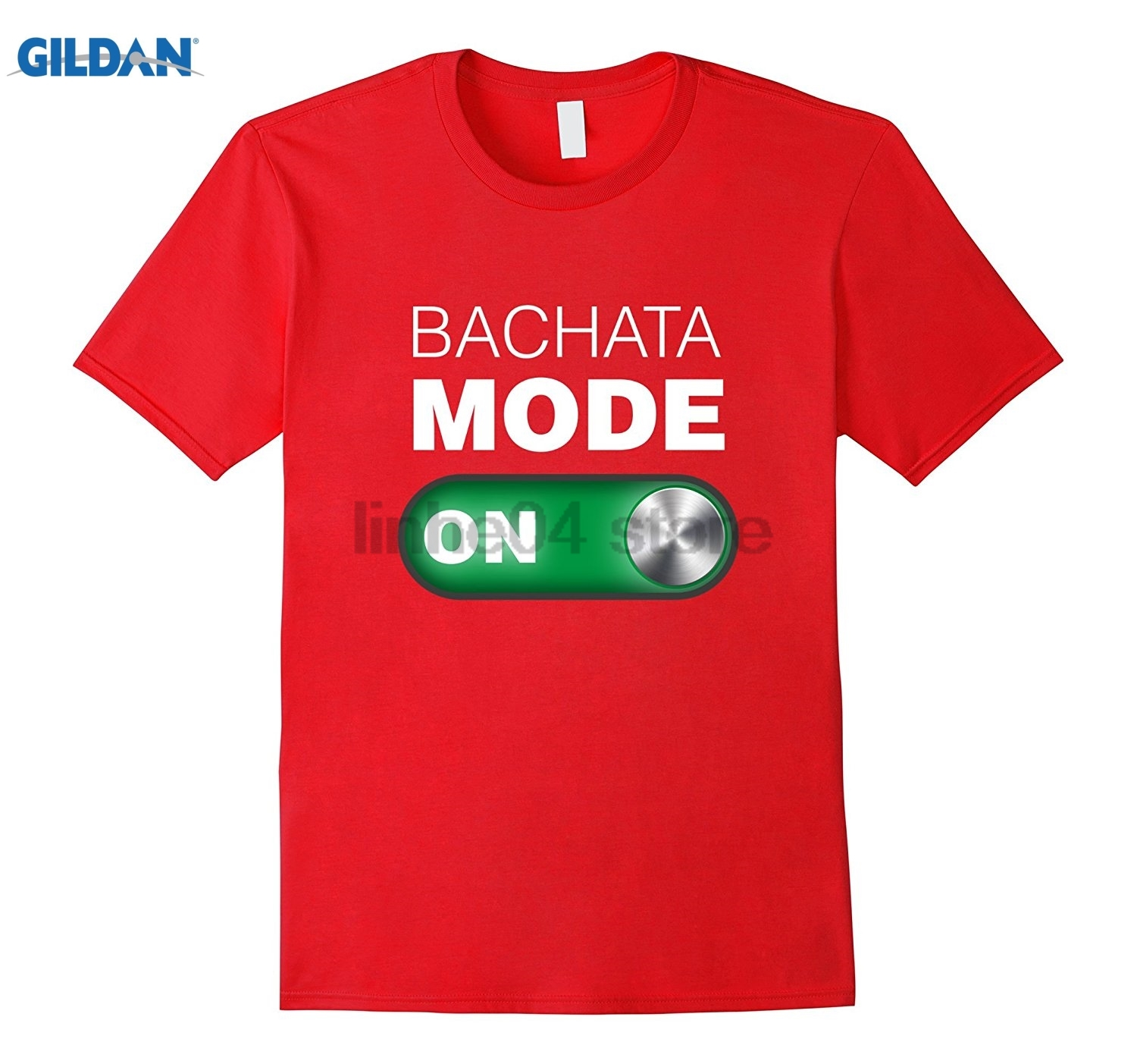 GILDAN Bachata Mode On Tee Shirt. Expressive Dance Shirt. dress T-shirt