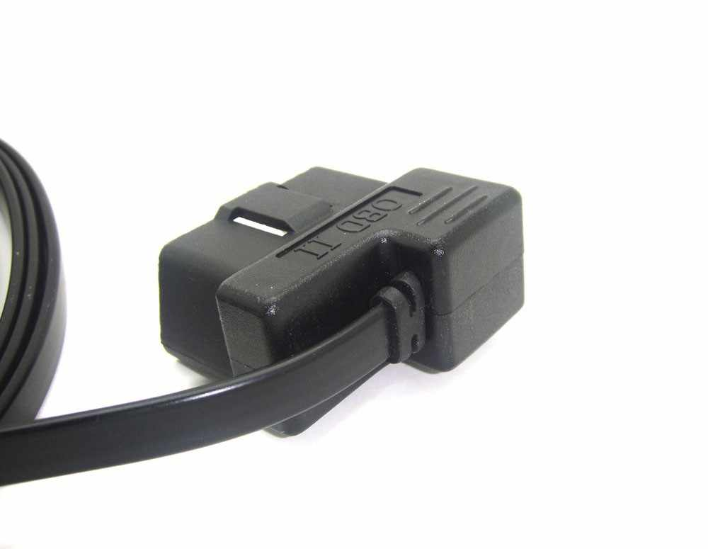 Dây tốt nhất OBDII Mini USB Cable Noodle 16Pin 16 Core Cho HUD OBD 16 Pin Thích Hợp cho ActiSafety ASH-4C/4C-2015/ASH-4E Head Up Disp