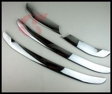 Car styling!ABS Chrome Front Grille Center Trim for Hyundai Santa Fe 2010 2011 2012