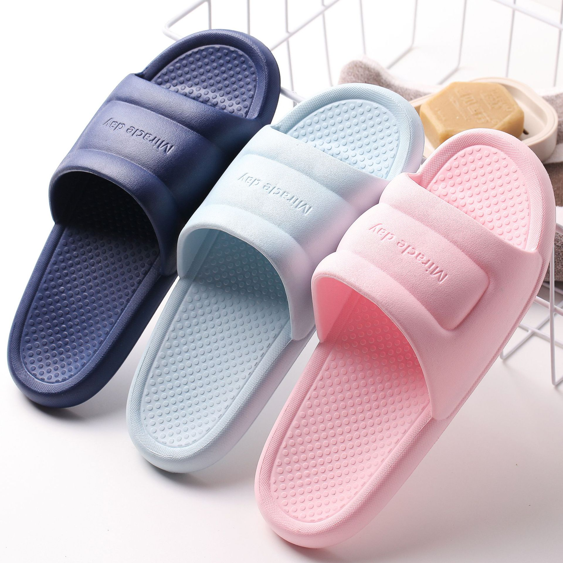 9063972252b Women Summer Slippers Soft Sole Slides Indoor   Outdoor Ladies Home  Slippers Platform Sandals Women Shoes