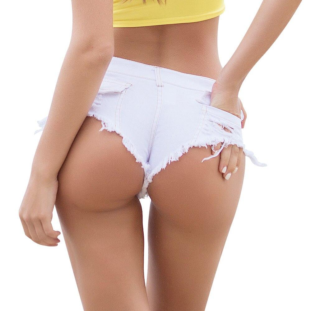 Booty   Shorts   Women's Jeans Summer Low Waist Cotton Straight Stretch Sexy   Shorts   harajuku Club Party Jeans Ladies   short   feminino