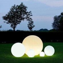7 цветов RGB светодиодный плавающий магический шар вечерние украшения бассейн шар светильник IP68 наружные лампы с дистанционным управлением