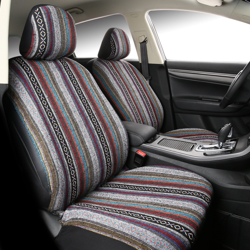 WESHEU Chinese Style Universal Car Seat Cover Set Fashion Car Styling Automotive Seat Cover for Toyota Lada Car Seat Protector(China)