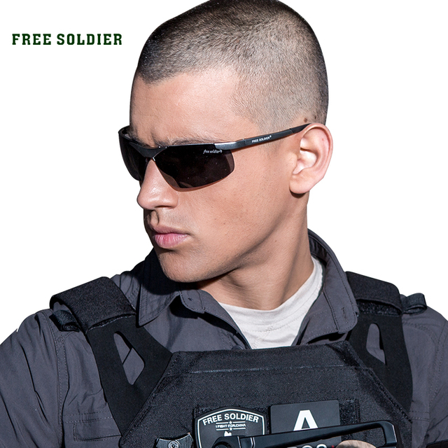 FREE SOLDIER outdoor sport glasses for bicycle camping riding tactical polarized sunglasses men's cycling eyewear glasses