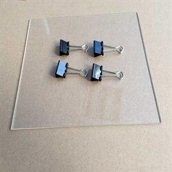 SWMAKER Wanhao i3-drukowanie łóżko szklana płytka + klip zestaw