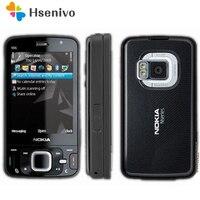 100% разблокированный оригинальный телефон Nokia N96 GSM 3G 16 Гб Внутренняя память WIFI GPS 5MP, 1 год гарантии восстановлено