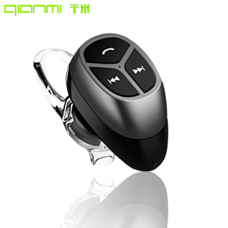 Qianmi A8 Mini Wireless Bluetooth Earphone In-ear Long Standbytime Earphone with Microphone HD Call Earphones HandsFree To Phone wireless service call bell system popular in restaurant ce passed 433 92mhz full equipment watch pager 1 watch 7 call button