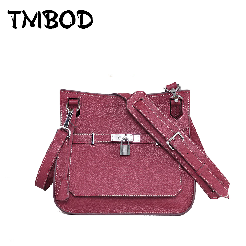 New 2017 Designer Classic Shoulder Bag with Lock Women Genuine Leather Handbags Ladies Bag Messenger Bags For Female an770 2017 new classic large tote with lock lady messenger bags genuine leather handbags women shoulder bag for female bolsas qn048