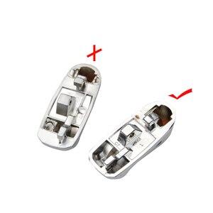 Image 5 - OkeyTech الجانب الجزء المعدني ل VW Golf 7 GTI MK7 سكودا اوكتافيا A7 مقعد الوجه للطي استبدال مفتاح بعيد قذيفة سيارة الجزء المعدني